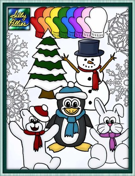 Winter Clip Art - Pilly Pack