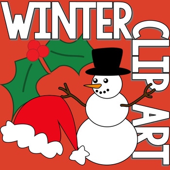 Winter Clip Art Sample Set - FREEBIE