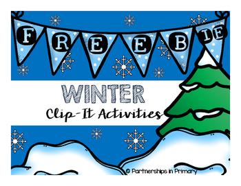 Winter Clip-it Freebie