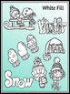 Winter Clipart (9 FREE Elements Included) Embellish Yourse