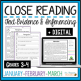 Close Reading - January, February, March