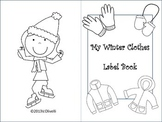 Winter Clothes Label Book