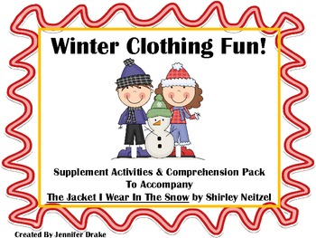 Winter Clothing Super Pack! Supplement & Fun for 'The Jack