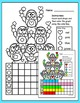 Winter Activities Color, Count and Graph - Penguins and Po
