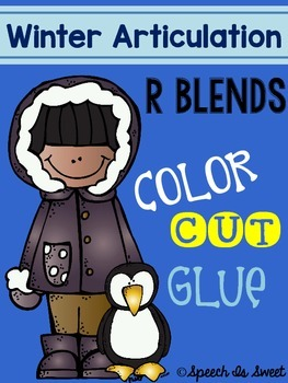 Winter Articulation: R Blends