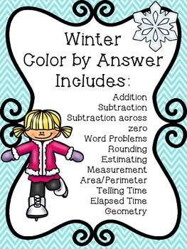 Winter Color by Answer