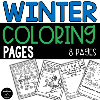 Winter Coloring