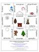 Winter Compound Words Literacy Center Game