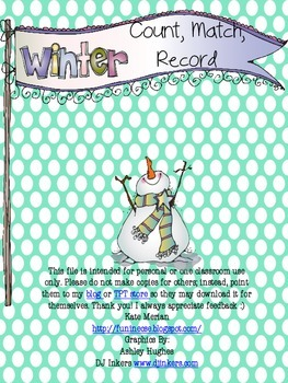 Winter Count Match and Record Freebie