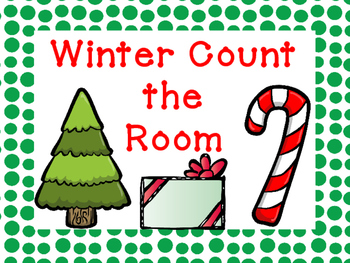 Winter Count the Room - Differentiated
