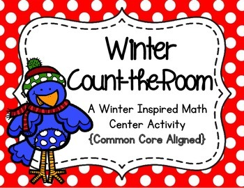 Winter Count-the-Room (Write-the-Room)