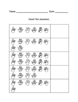Winter Counting Activity