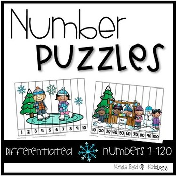 Winter Number Activities