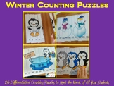 Winter Counting Puzzles K-2 BUNDLE