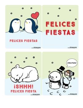 Winter Crafts and Activities {Spanish Bundle}