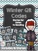 Winter Listen & Write Bundle: QR Code Listen to Reading an