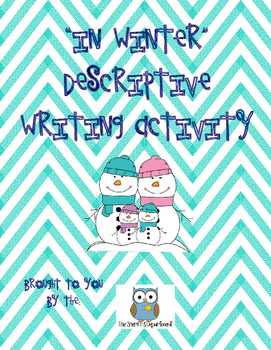 Winter Descriptive Writing Activity