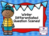 Winter Differentiated Question Scenes
