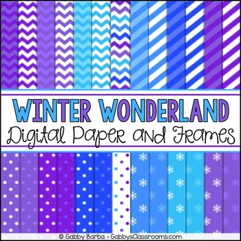 Winter Digital Papers