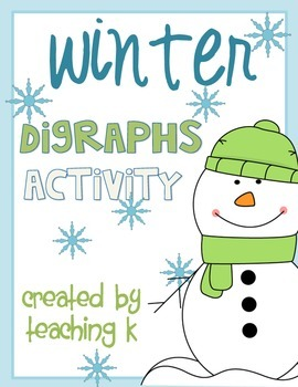 Winter Digraphs Sh, Th, Ch Activity