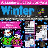 Winter ELA and Math Activity Bundle