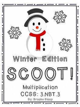 Winter Edition: Multiplication SCOOT