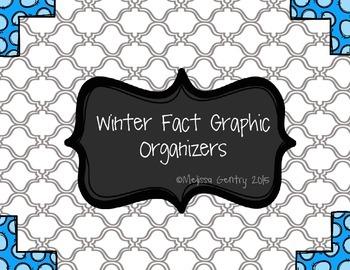 Winter Fact Graphic Organizer