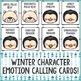 Winter Feelings Bingo Game - Emotions - Elementary School