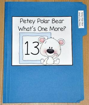 "Winter File Folder Game--""Petey Polar Bear What's One More?"""