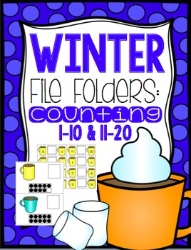 Winter File Folders: Counting and Comparing Numbers