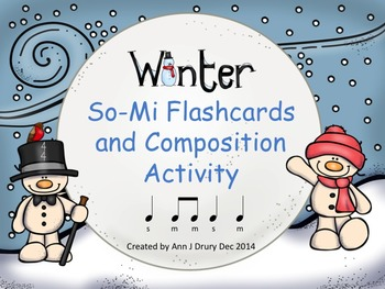 Winter - Flashcards and Composition Activity to Practice S