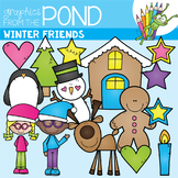 Winter Friends Clipart Set