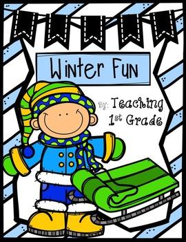 Winter Fun- No Prep Printables