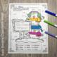 Color By Numbers Winter Math Addition