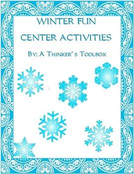 Winter Fun - Center Activities