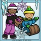 Winter Fun Clip Art Set - Chirp Graphics