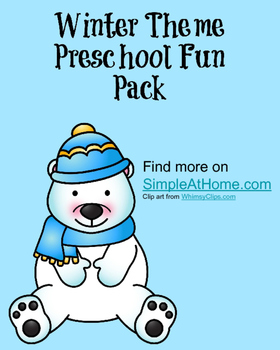 Winter Fun Preschool Pack
