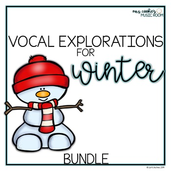 Winter Fun Vocal Explorations BUNDLE