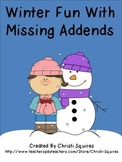 Winter Fun With Missing Addends
