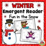 Winter Fun in the Snow Emergent Reader and Story Web