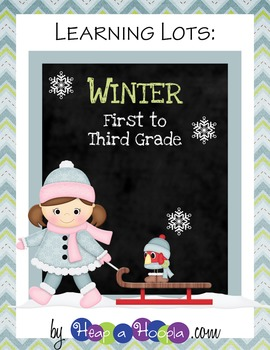Winter Games and Activities for First, Second and Third grades