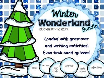 Winter Grammar & Writing Bundle