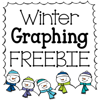 Winter Graphing Freebie: Bar Graph & Line Plot