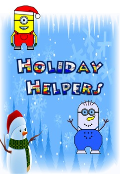 Holiday Helpers Mystery Pictures
