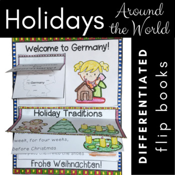 Winter Holiday Celebrations Around the World {Reading Lift