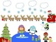 Winter - Holiday - Christmas WH Questions and Spacial Conc