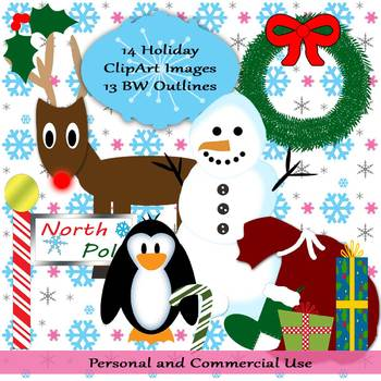 Winter Holiday Clip Art (27 Images)