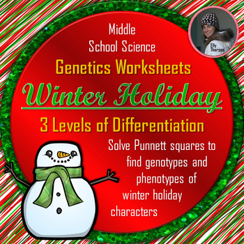 Winter Holiday Genotype and Phenotype Punnett... by Elly Thorsen ...