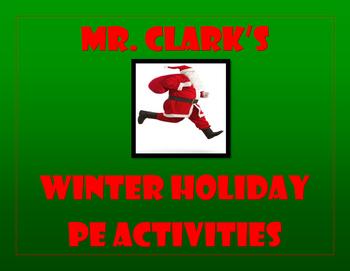 Winter Holiday PE Activities