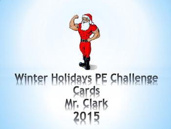Winter Holiday PE Cards